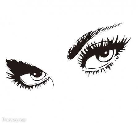عکس چشم , عکس پروفایل چشم عسلی , عکس پروفایل چشم و ابرو , عکس پروفایل چشم گریان