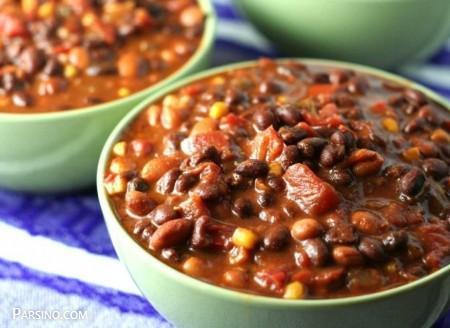 آموزش پخت خوراک چیلی , طرز تهیه خوراک چیلی , خوراک چیلی