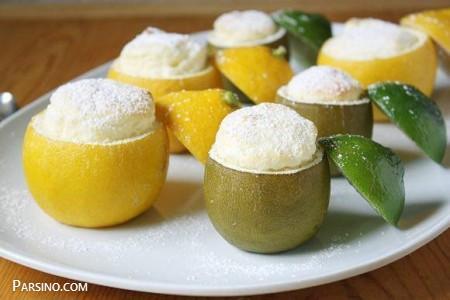 آموزش دسر سوفله لیمو , طرز تهیه سوفله لیمو , دسر سوفله لیمو فرانسوی