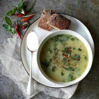 پخت و طرز تهیه سوپ اسفناج
