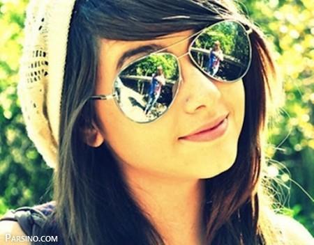 عکس پروفایل دخترانه خفن , عکس پروفایل دخترونه عینکی , عکس پروفایل دخترونه ناز