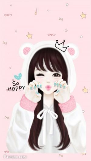 عکس شاد دخترانه , عکس پروفایل شاد , عکس پروفایل شادی