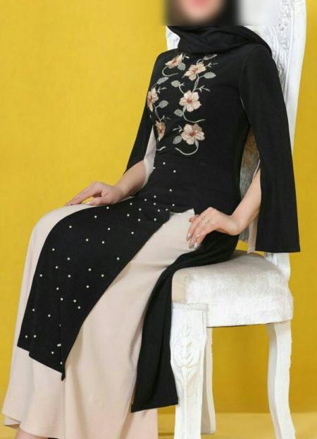 مدل مانتو شیک بلند دخترانه