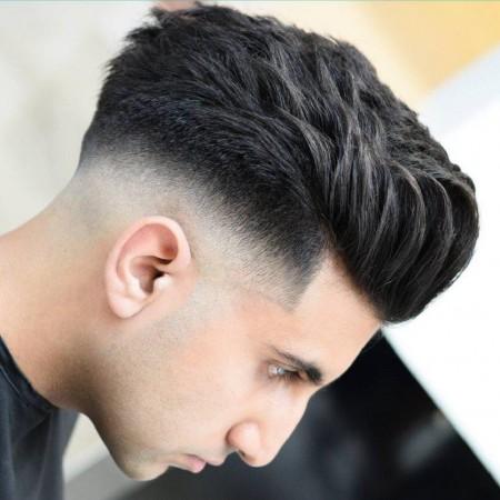 موهای کوتاه و شیک مردانه خامه ای