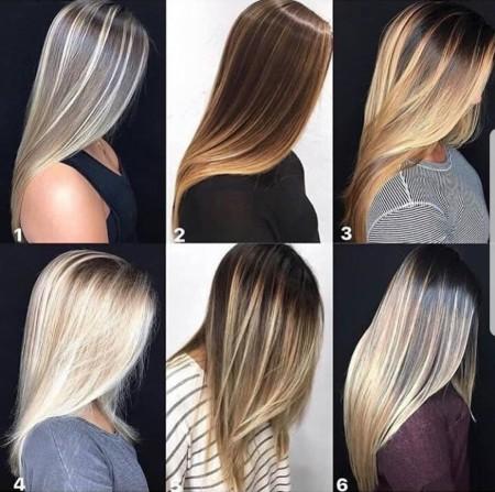 مدل رنگ موهای زنانه 2018 شیک