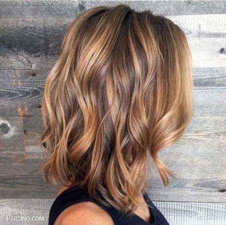 رنگ مو , رنگ موی زنانه , رنگ مو 2018 , رنگ مو کاراملی