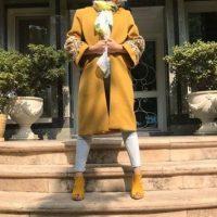 گالری مدل مانتو بلند ایرانی