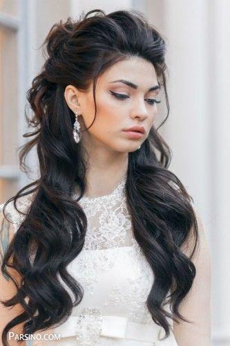 مدل مو , مدل موی باز مجلسی زنانه , مدل مو بلند و باز