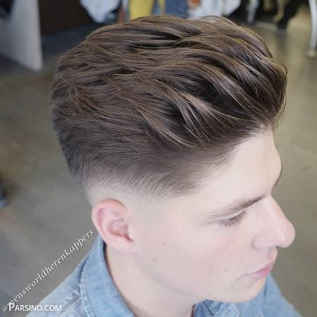 مو مردانه ,مدل موی پسرانه , مدل مو خامه ای