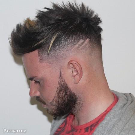 مدل مو مردانه , مدل مو مردانه کوتاه , مدل مو مردانه خامه ای ,مدل مو پسرانه