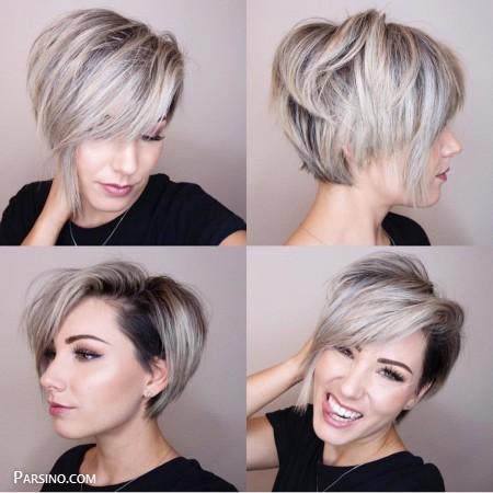 مو کوتاه فشن , مو کوتاه زنانه , مدل موی کوتاه