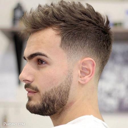 مدل مو مردانه برای صورت گرد ,مدل مو مردانه کوتاه ,مدل مو مردانه جذاب