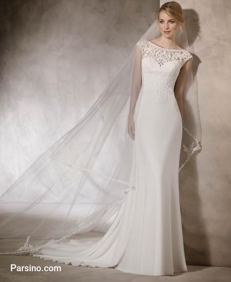 مدل لباس عروس جدید تور , لباس عروس زیبا