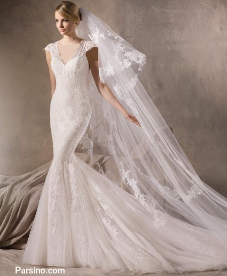 لباس عروس خرجی تور