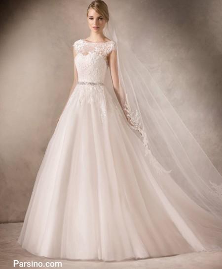 مدل لباس عروس شیک سال