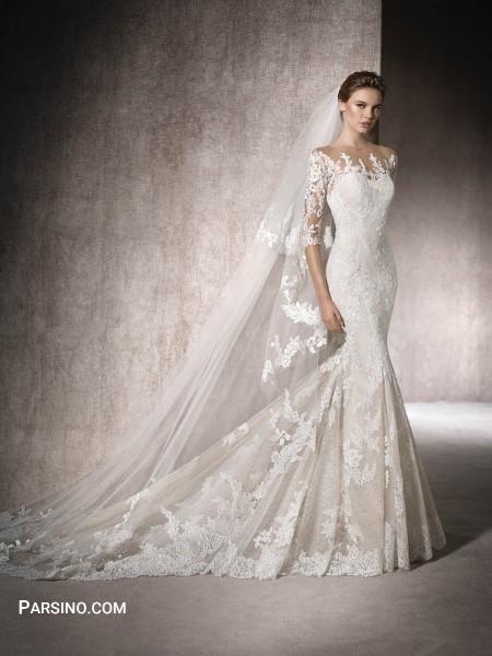 مدل لباس عروس جدید , لباس عروس 2018 , لباس عروس گیپور