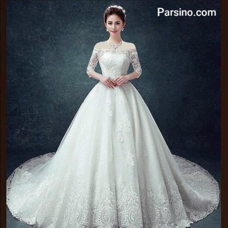 مدل لباس عروس پرنسسی , مدل لباس عروس دامن پفی