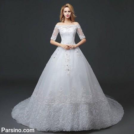 زیباترین لباس عروس پرنسسی , مدل لباس عروس دامن پفی