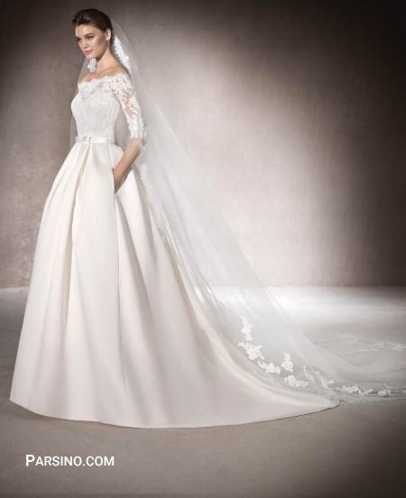لباس عروس خاص و شیک خارجی