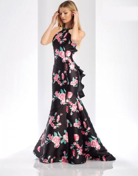 لباس مجلسی بلند حریر 2018 , لباس مجلسی بلند گیپور 97 , مدل لباس مجلسی شیک بلند