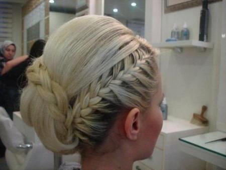 دانلود مدل بافت مو قشنگ عروس و زنانه کنار و بغل سر