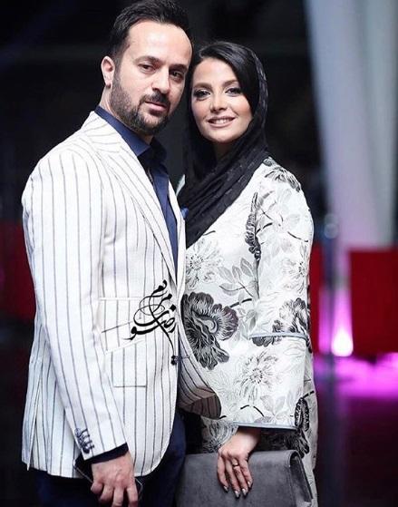 عکس احمد مهرانفر و همسرش مونا فائز پور