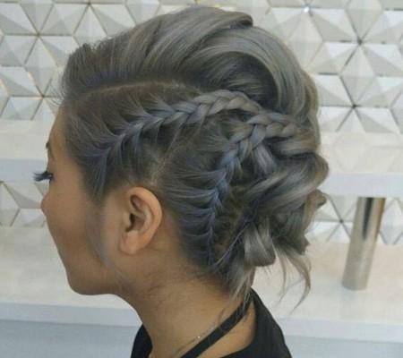 مدل بافت موی جمع شیک
