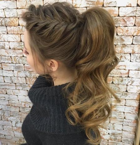 بافت مو , مدل بافت مو دخترانه , بافت موی تیغ ماهی