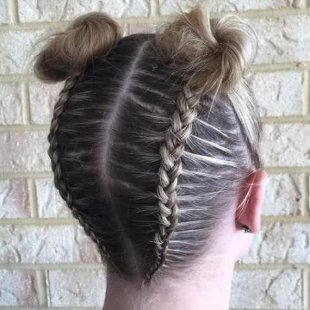 مدل بافت موی گندمی