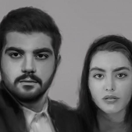 عکس حامد و لیلا