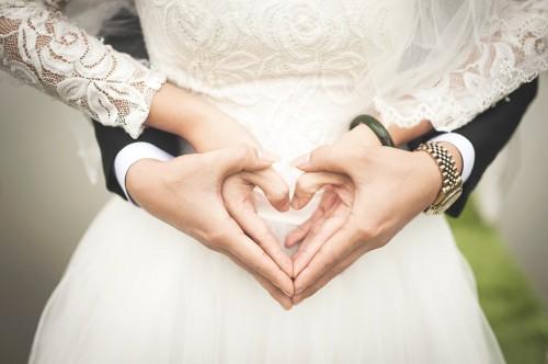 عکس عاشقانه عروس داماد