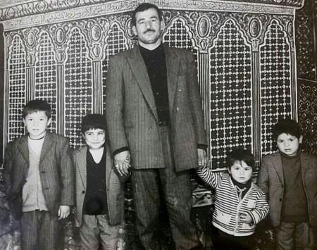 علی دایی و پدرش